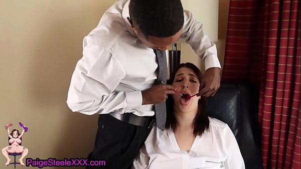 Dentist With BBC Cums On Rich Girls Braces
