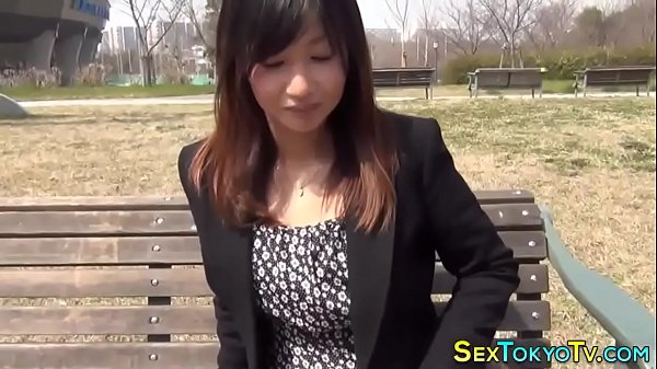 Tiny asian spreads pussy