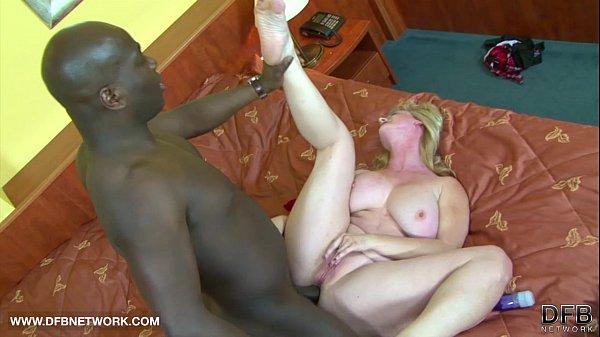 BIG TITS GRANNY WANTS BLACK COCK CUMSHOT ON HER...
