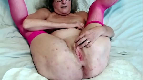 60 year old granny spreads her twat wide and gets wet fingering Thumb