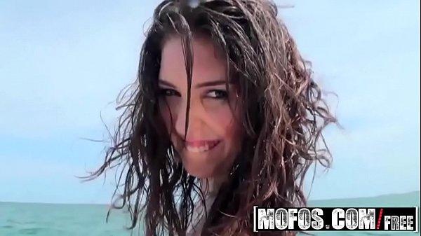 Latina teen (Natalia) gets fucked on a boat - Mofos Thumb