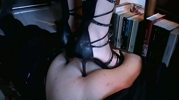 Domestic Trampling with Different Shoes (Stomach Demolition)