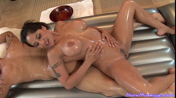 Jenaveve Jolie Gives a Nuru Massage