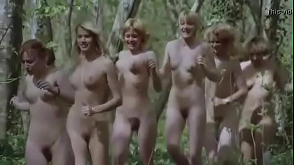 Girls Running Naked Video