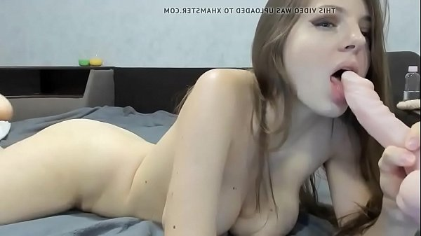 Camschat.org - Big Titted Webcam Babe Plays With Her Dildo