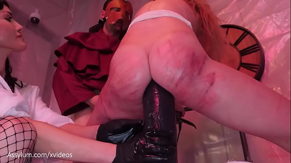 Big ass blond submissive Rebel Rhyder gets assh...