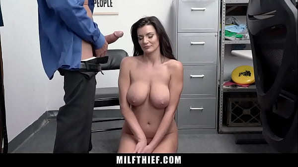Big Tits Milf Caught Stealing Lets Security Officer Creampie Her - Becky Bandini