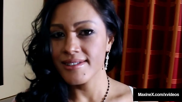 Crazy Asian Mom MaxineX Has Hood Over Head A Bi...