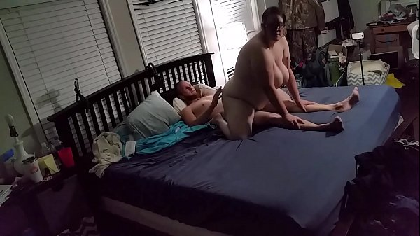 Bbw huge tit wife fucked reverse cowgirl 3