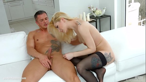 Luna Melba gets her holes filled up with jizz of creampie by All Internal