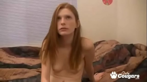 Amelia Rose Talked Into Draining & Fat Old Guys Dick
