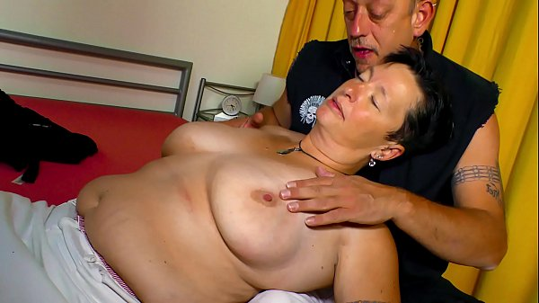XXX OMAS - Big tits German chubby mature gets s...