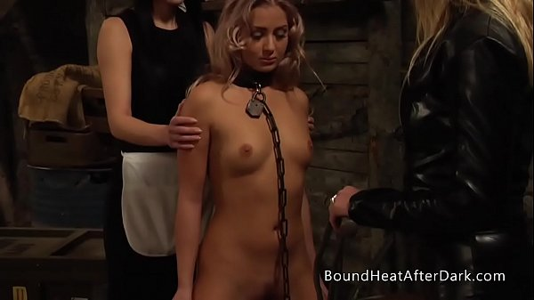 Pleasure and Pain: Enslaved Girl Furiously Whip...