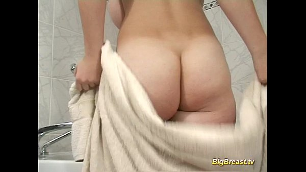 Big breasts amateur dildoing