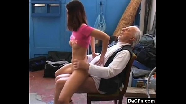 Old Pervert Horny For Some Teen Pussy