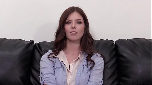 Freckled Coed Jasmine Enjoys A Vibrator And A Dick
