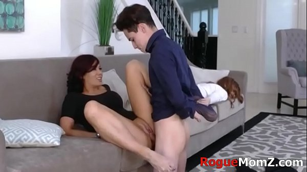 Mommy fucks son infront of s. sis- WTF