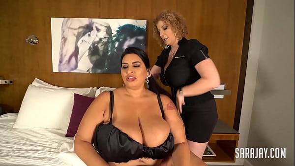 Huge Titty BBW Sofia Rose Cums With Her Sexy MILF Masseuse Sara Jay!