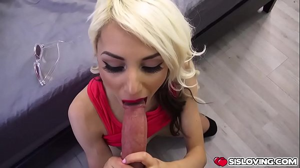 Step bro rimming Hime Marie's pussy on top of h...