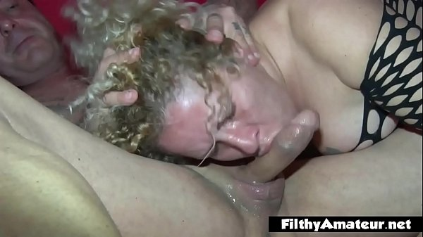 Amateur orgy with housewives hungry for cock