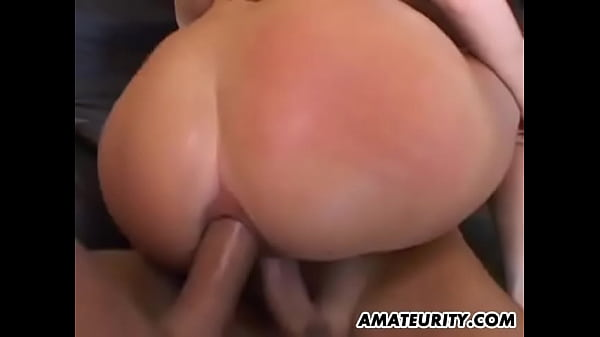 Amazing slut takes two cock up her ass and gets filled with cum