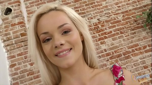 Petite blonde Elsa Jean does Handjob Thumb