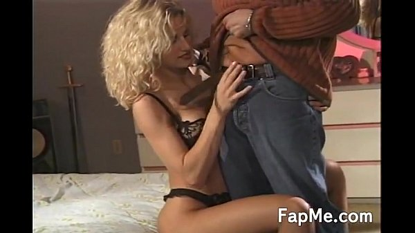 Sexy MILF enjoys playing with a dick