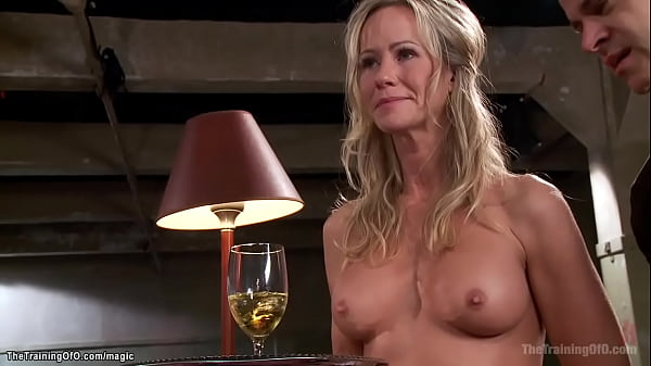 MILF trainee anal fucked on the table