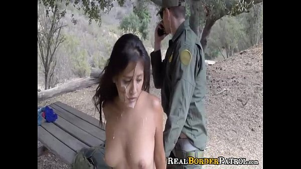 Border Gaurd Blackmails Illegal Hispanic Teen Slut Thumb