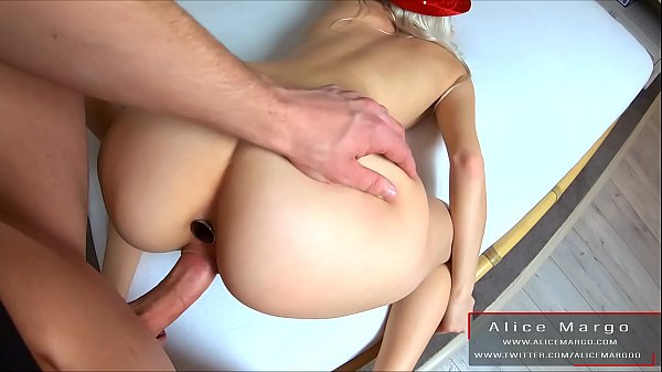 Amateur Hard Anal Sex With Amazing Creampie! Sperm Flows From Hole! AliceMargo.com