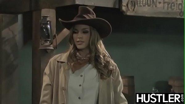 Wild West lesbian Ryan Ryans forms 69 on bar co...