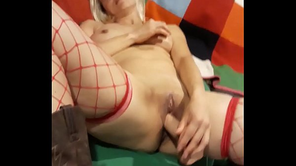 Teen pussy for Hulk dildo