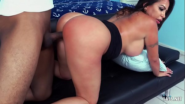 Absolutely Fucking Gorgeous Julianna Vega brings her Big Ass Donkey as a gift