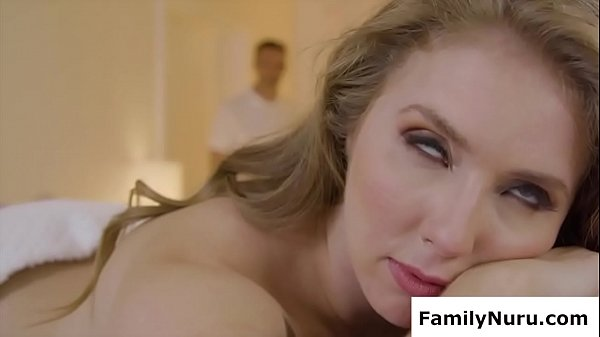 Classy ex wife get fucked during massage