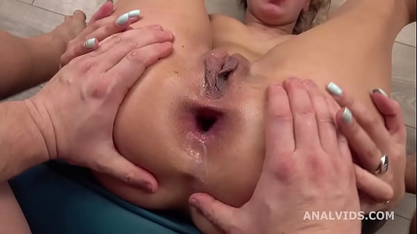Mr. Anderson's Anal Casting, Alexa Bunny welcome to Porn with Balls Deep Anal, Gapes and Cum in Mouth GL363