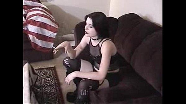 Amateur gothic girl