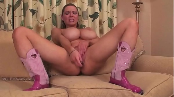 Big Tit Blonde Cowgirl Rides Your Cock