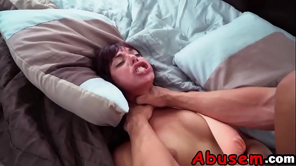 Teen Gina Gets Roughly Pounded By Big Dick In Bed Thumb