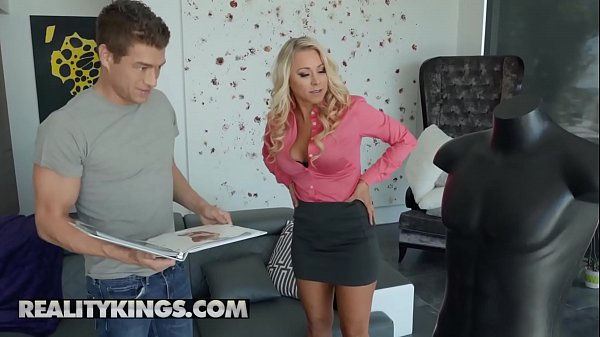 Milf Hunter - (Katie Morgan, Xander Corvus) - Study Hard Fuck Harder - Reality Kings