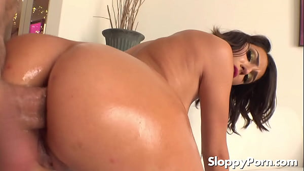 Hime Marie oiled anal