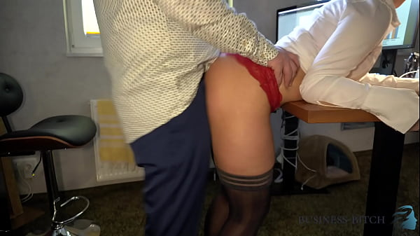 hot female boss in a crop blouse seduces employees with her sexy navel - secret office fuck, business-bitch Thumb