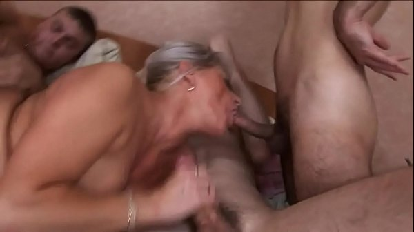 matue pussy is getting fucked at every hole --d...