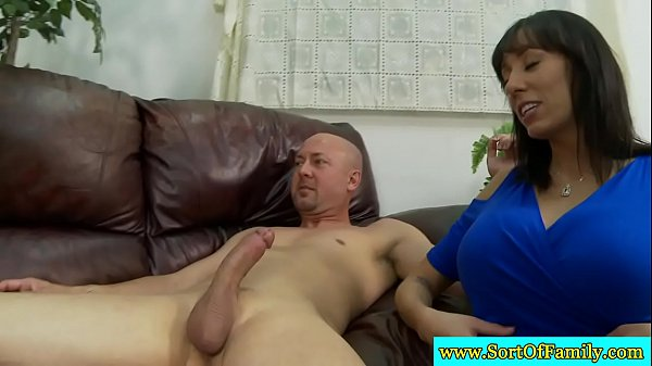 Raven mama and stepdaughter suck dick