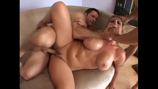Salacious blonde floozie with huge melons Velicity Von is fond of spit all cum to her high-heel and use it like glass after dirty hardcore action with couple of well hung studs