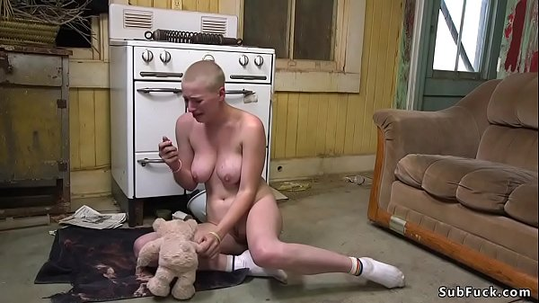 Trimmed headed blonde dp banged orgy