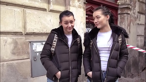 Pretty Polish Twins Share a Cock