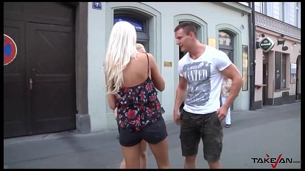 Czech sluts takes care of my hard dick