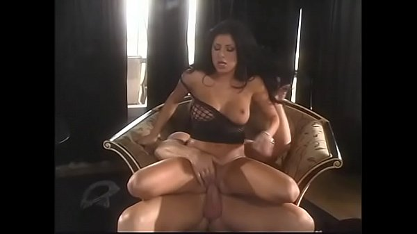 Beautiful brunette in sexy lingerie gets facialized after her twat was fucked by big cock