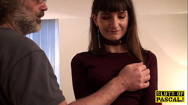 British cumswallower submissive learns discipline