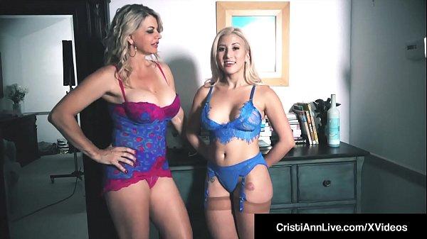 Hot VNA Girls Cristi Ann & Vicky Vette Hitachi Their Pussies